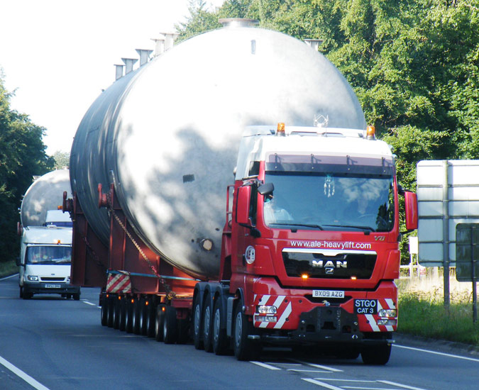 Ale Heavy Lift On The Move News From Lorryspotting Com