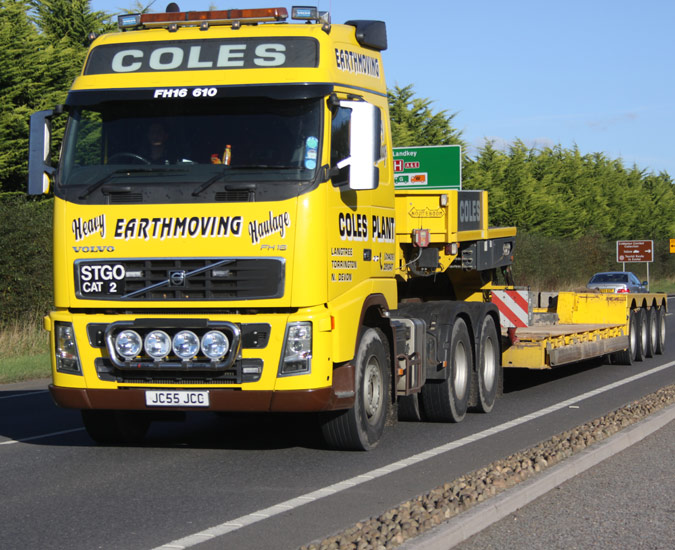 Coles Plant From North Devon News From Lorryspotting Com