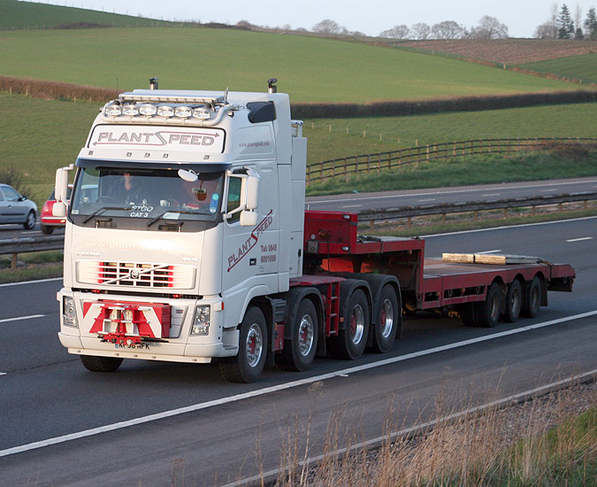 Volvo Fh16 660 8x4 For Plant Speed News From