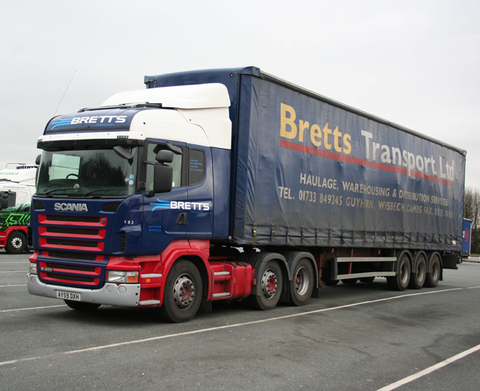 Truck spotting pictures uk