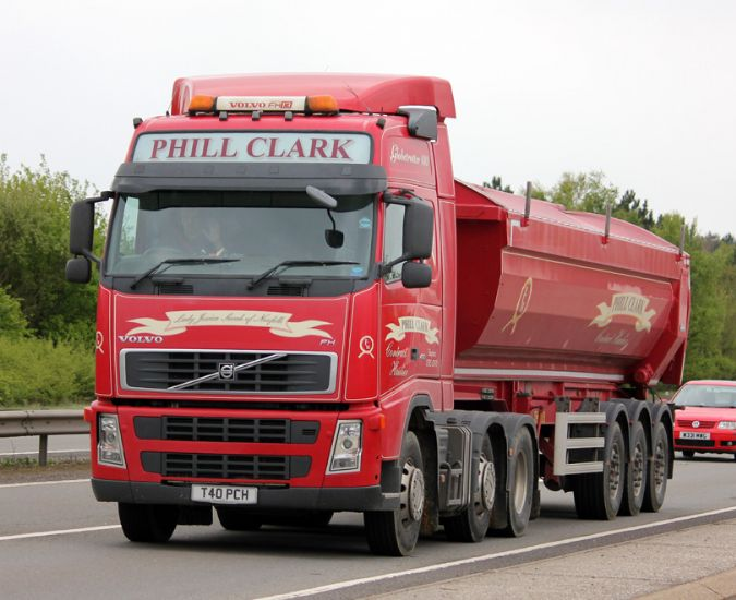 Phill Clark Haulage - news from Lorryspotting com